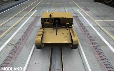 Girls und Panzer Anzio skin for AT-1 4 [1.2.0]
